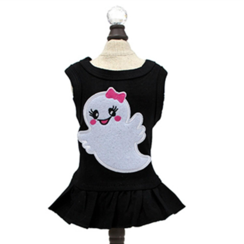 Ms. Boo Dog Dress - Black