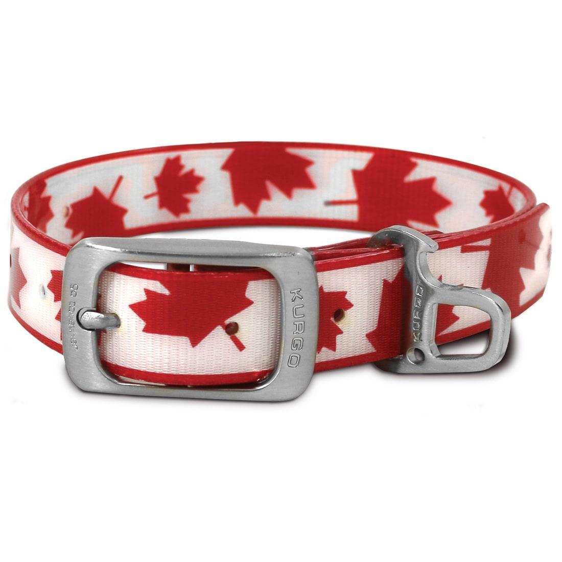 Muck Dog Collar by Kurgo - Maple Leaf