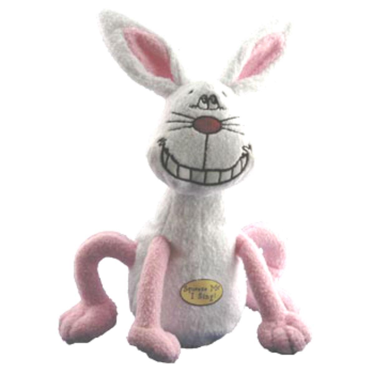 Multipet Deedle Dudes Dog Toy - Rabbit