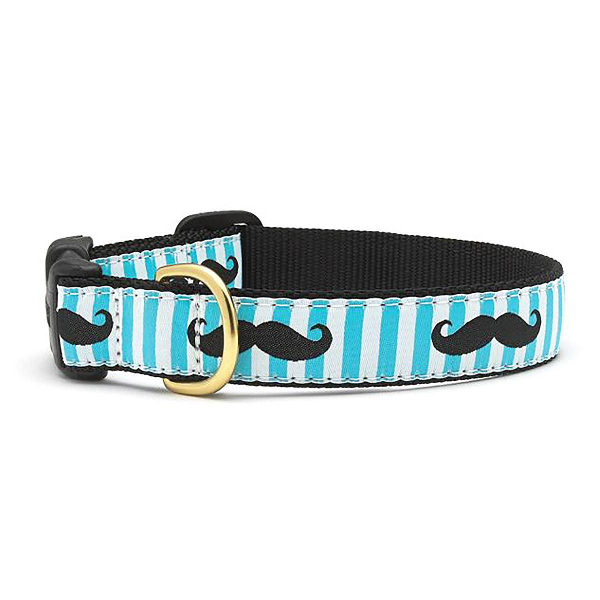Mustache Dog Collar by Up Country