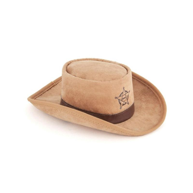 Mutt Hatter Sheriff Plush Dog Toy and Hat