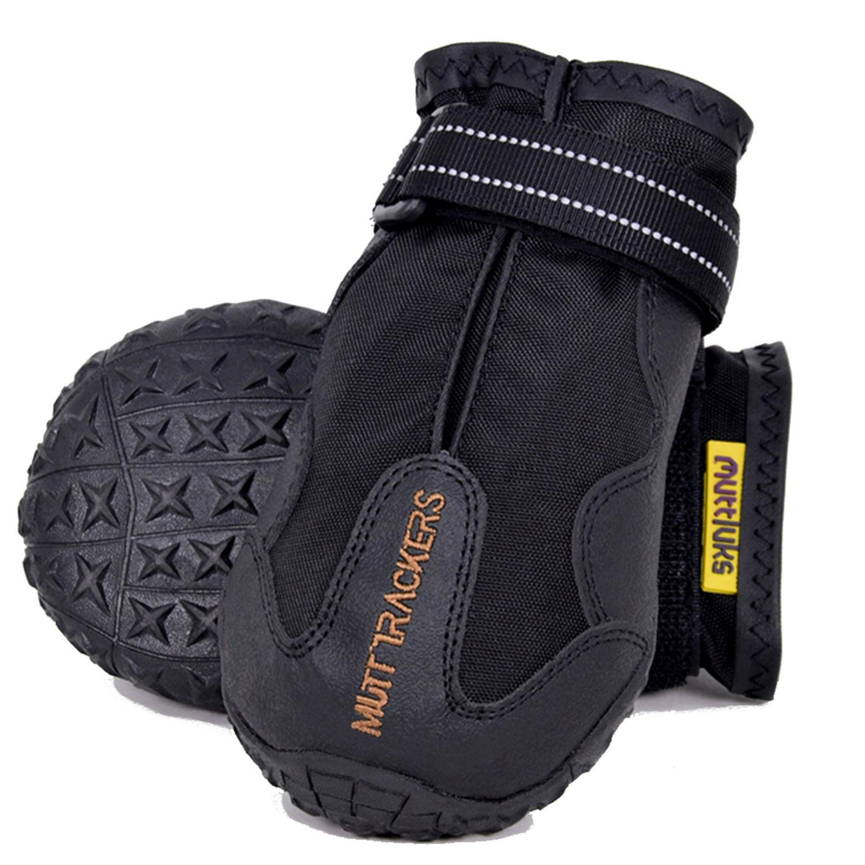 Muttluks Mutt Trackers Dog Boots - Black