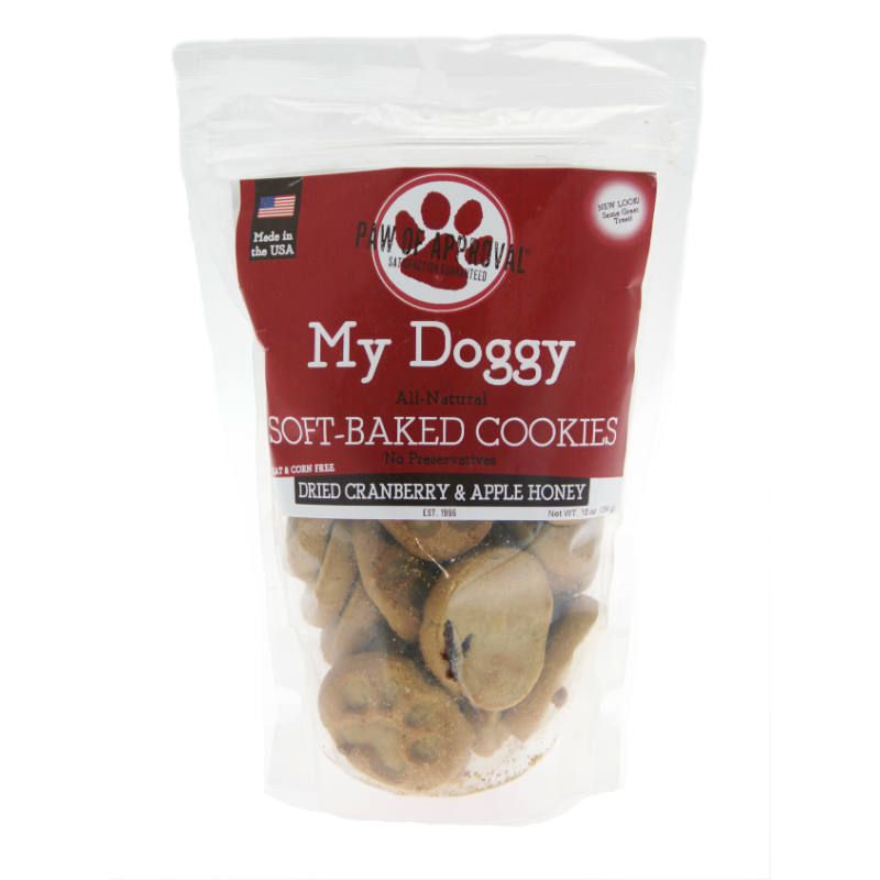 My Doggy Dog Treats - Dried Cranberry and Apple Honey