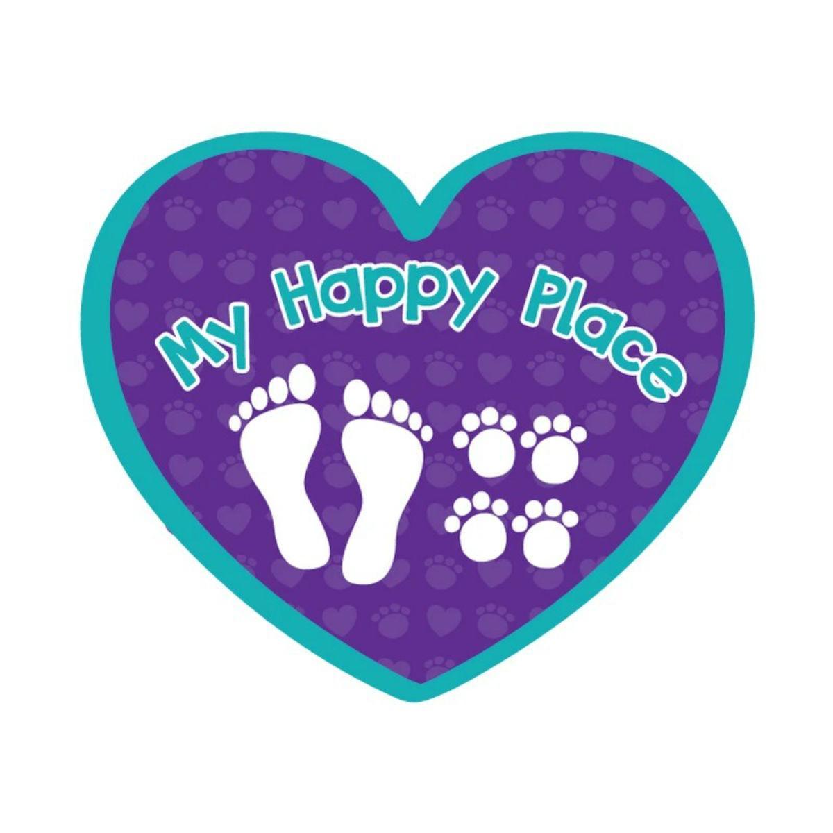 My Happy Place Sticker by Dog Speak