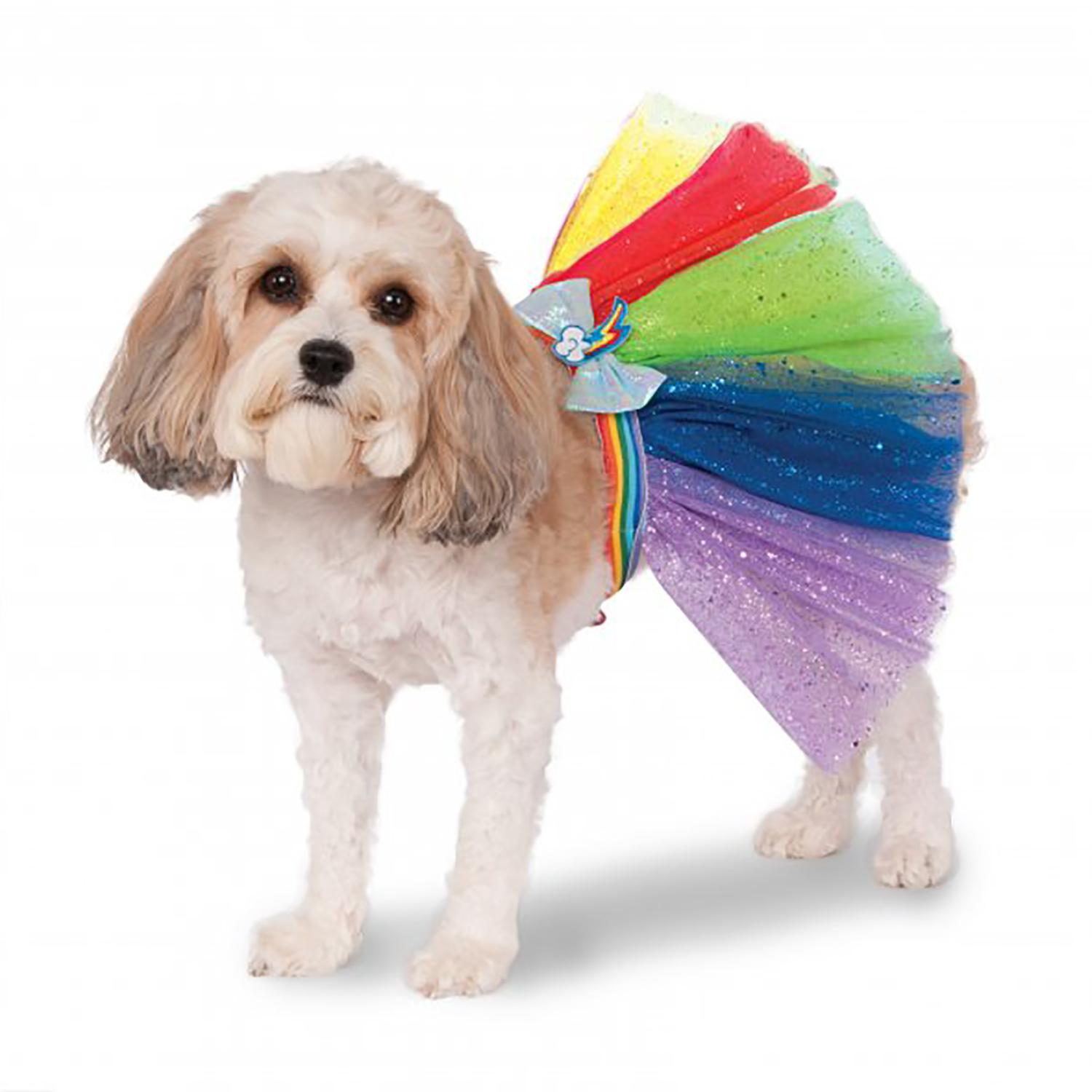 My Little Pony Rainbow Dash Dog Tutu Costume