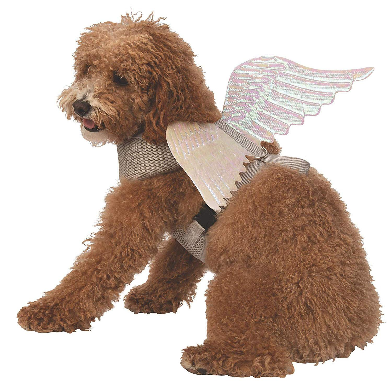 Deluxe Angel Wings Dog Harness Costume by Rubie's