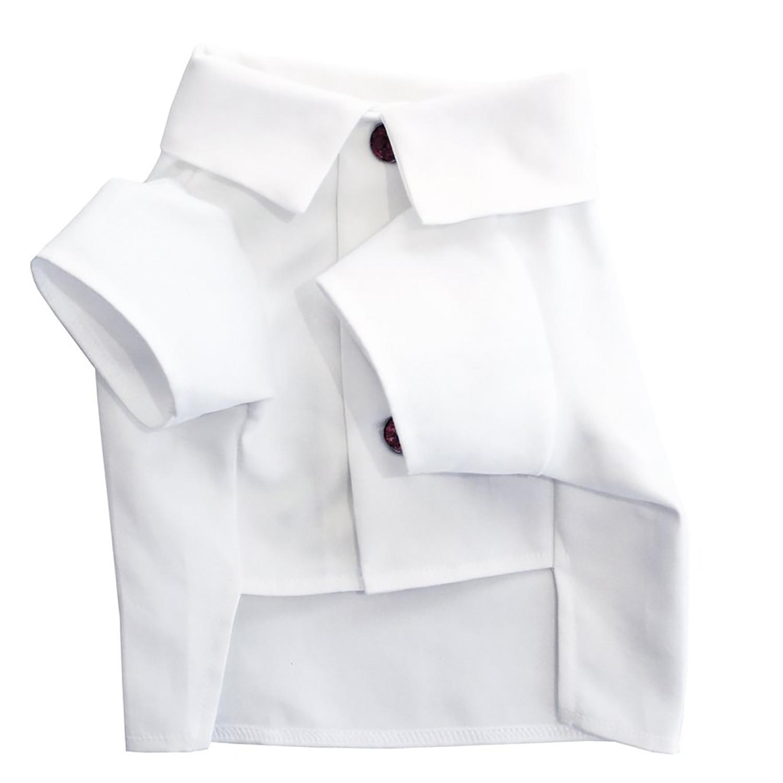 Oxford Dog Shirt by Dog Threads - White