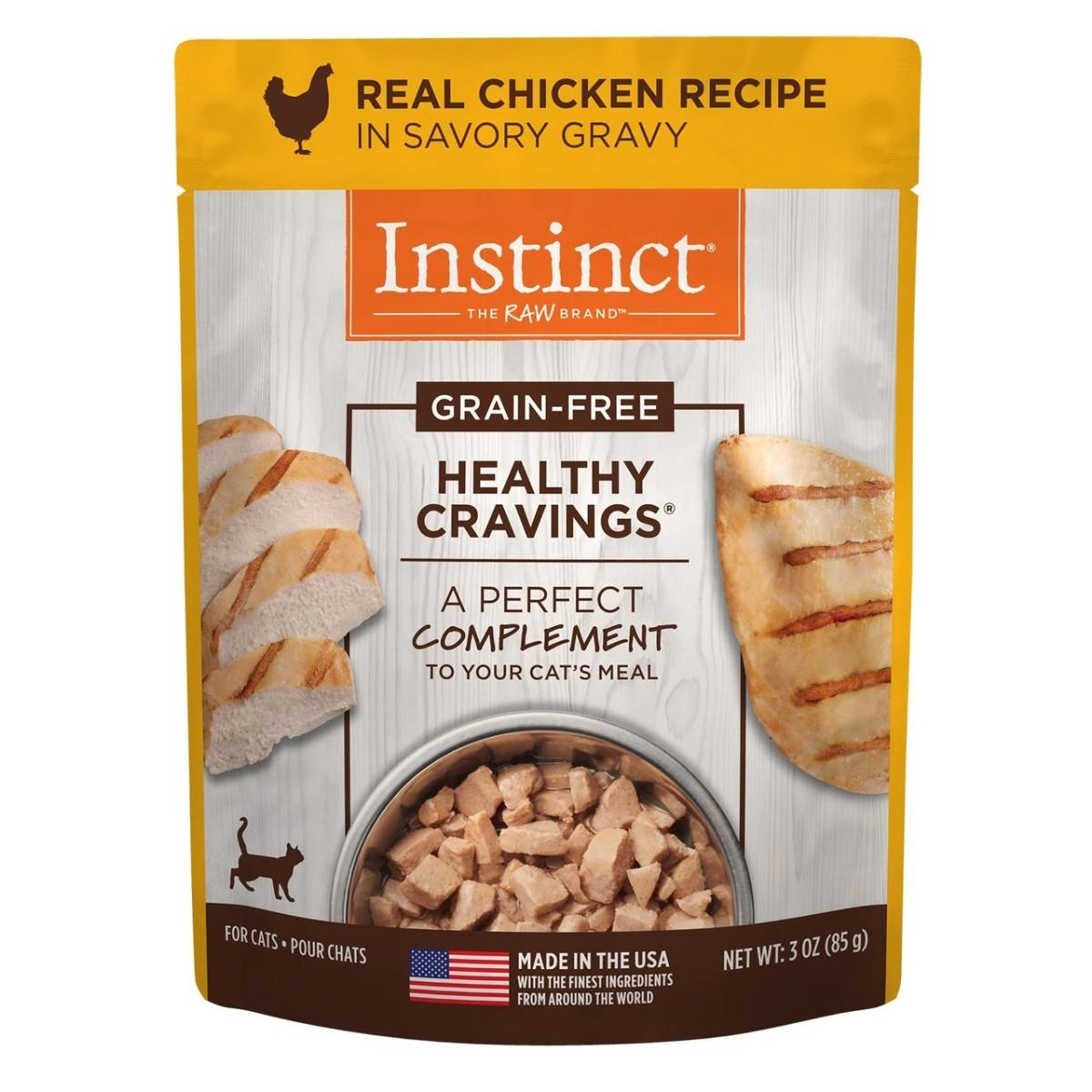 Nature's Variety Instinct Healthy Cravings Cat Food Topper - Chicken
