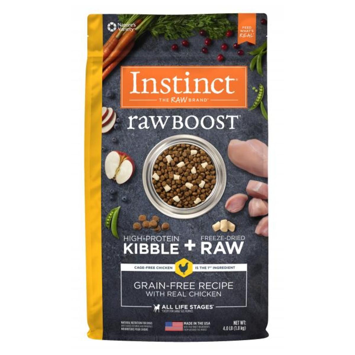 Nature's Variety Instinct Raw Boost Dog Food - Real Chicken