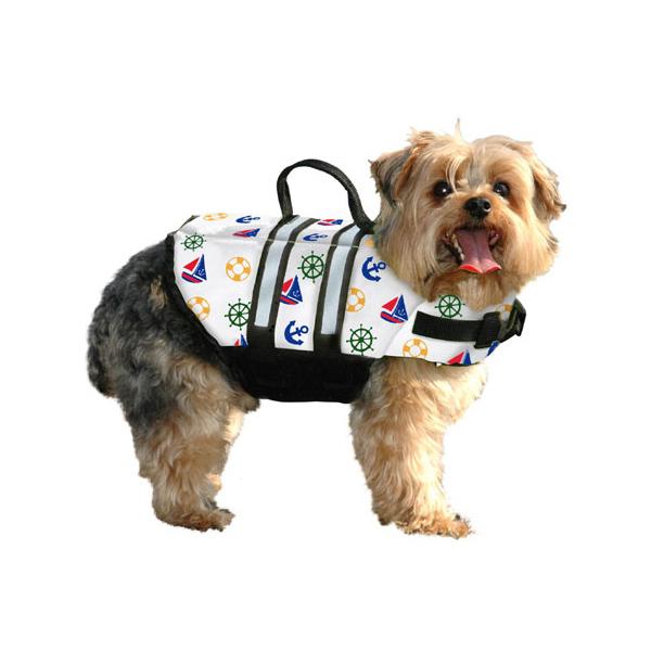 Nautical Designer Dog Life Jacket