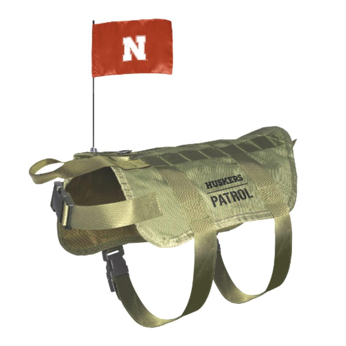 Nebraska Huskers Tactical Vest Dog Harness