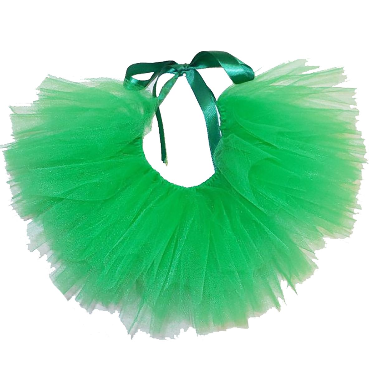 Green Tulle Dog Tutu by Pawpatu