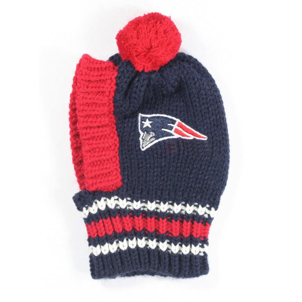 New England Patriots Knit Dog Hat 02bd4c71c
