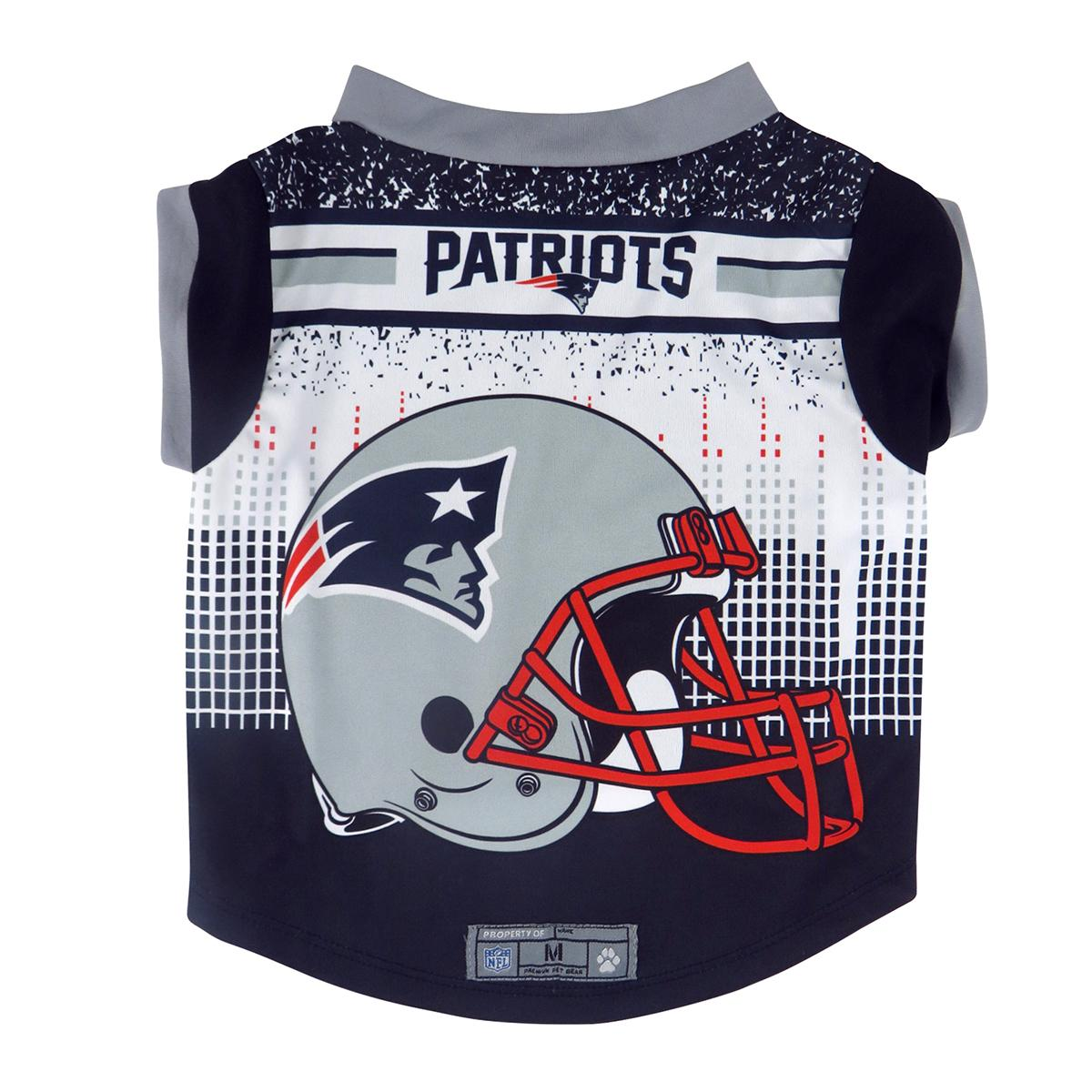 new products d8632 dbb19 New England Patriots Performance Dog Shirt