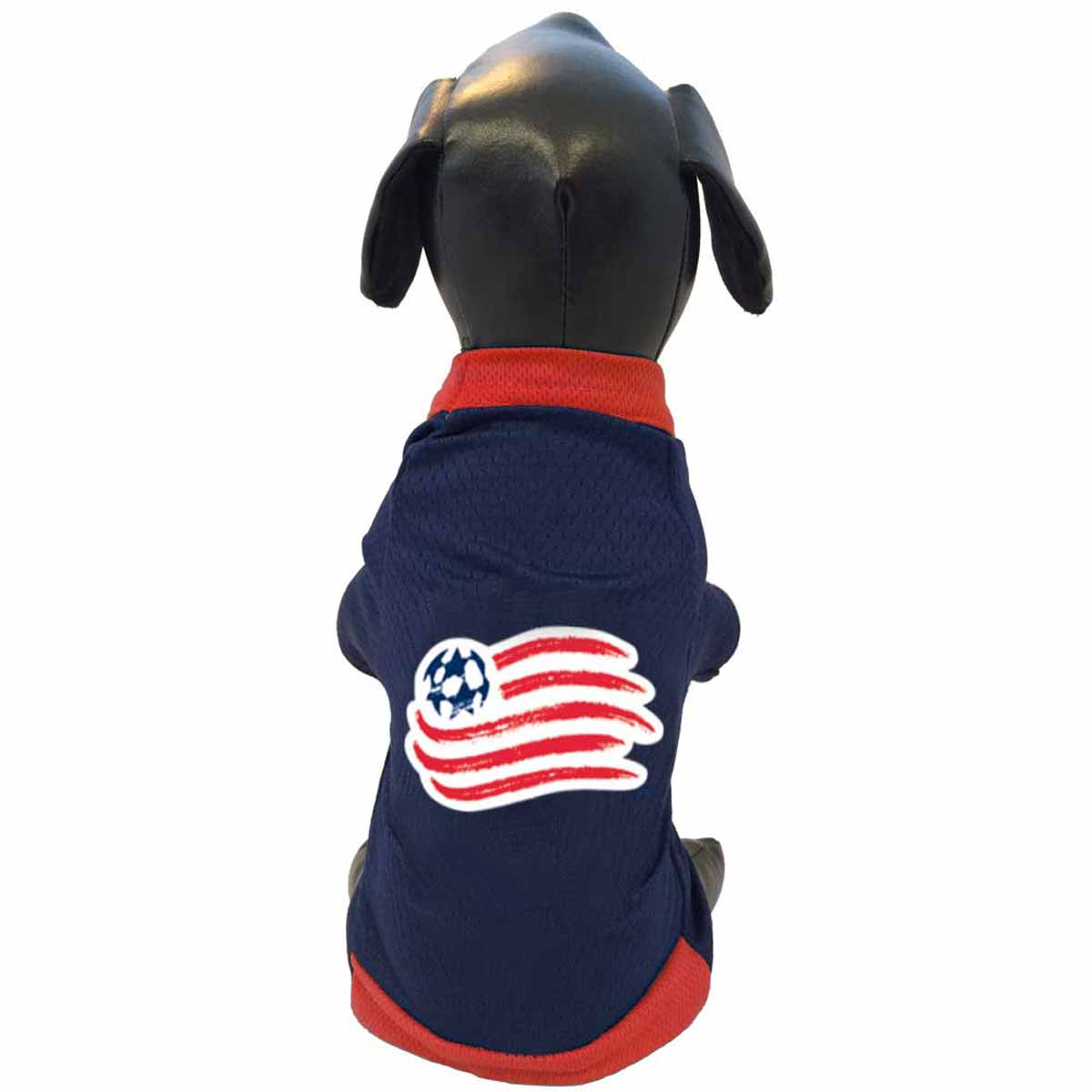 New England Revolution Athletic Mesh Dog Jersey