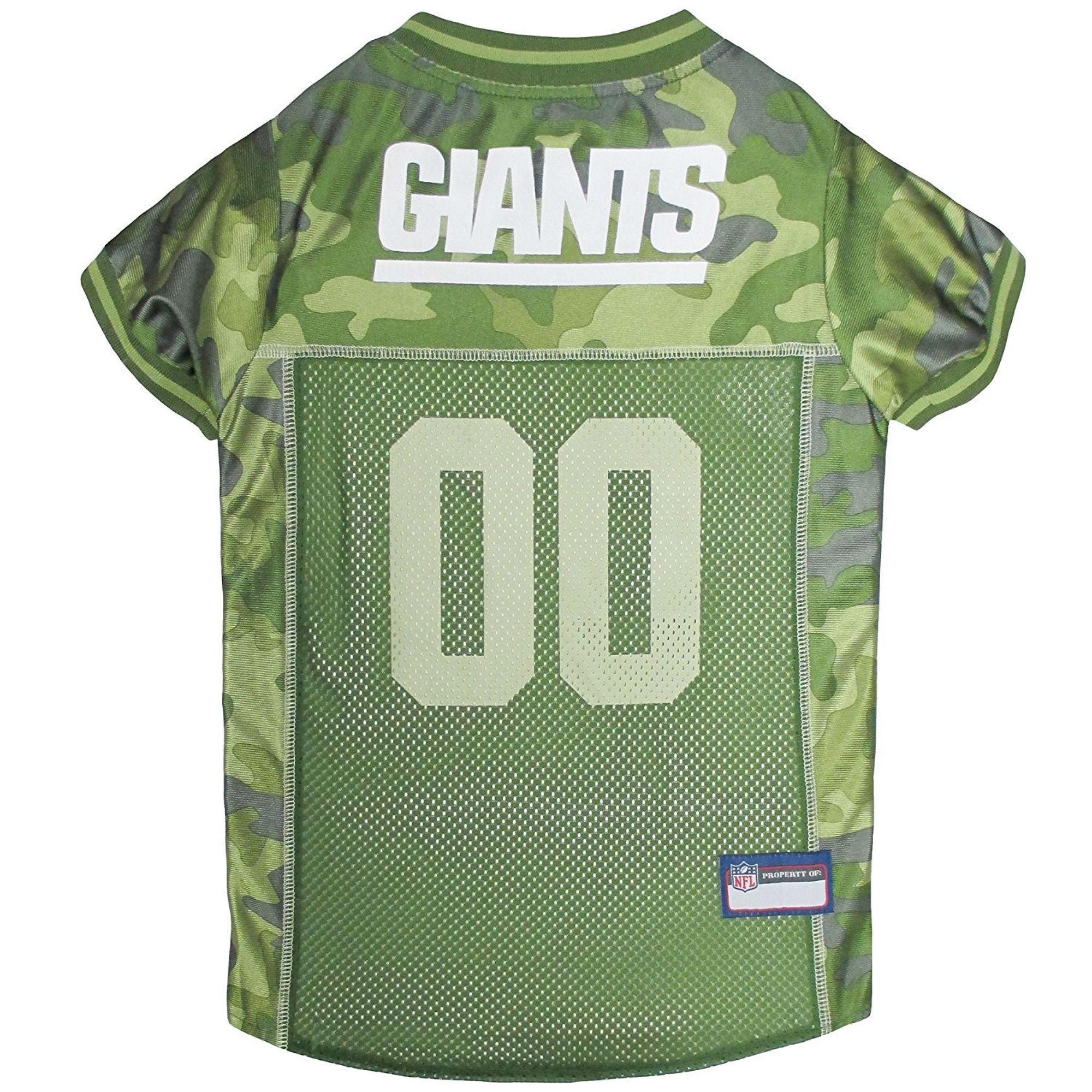 New York Giants Dog Jersey - Camo