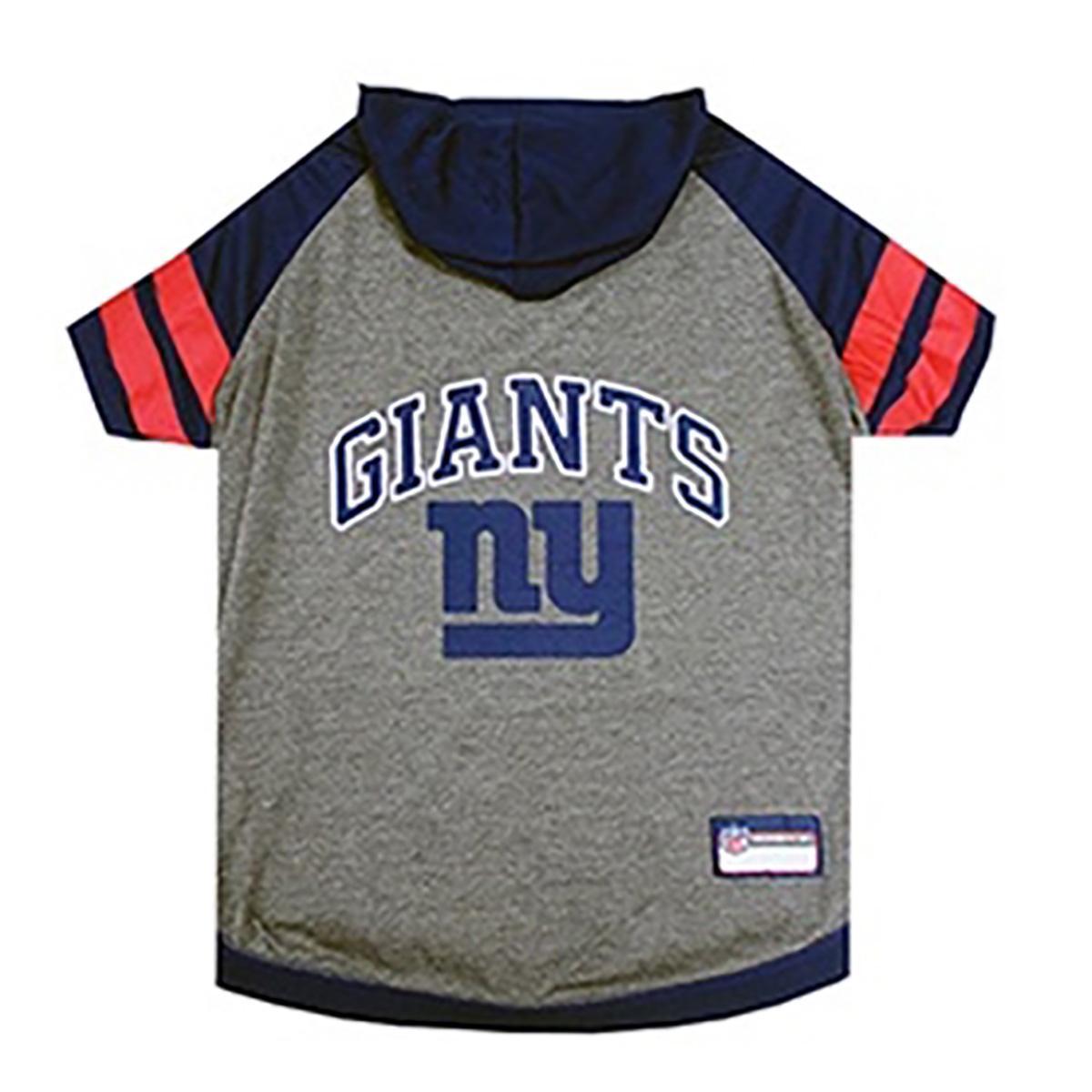 New York Giants Hooded Dog T-Shirt