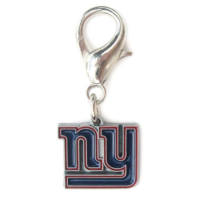 New York Giants Logo Dog Collar Charm