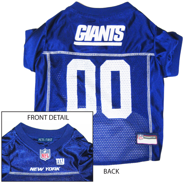 size 40 2eb17 c7153 New York Giants Officially Licensed Dog Jersey