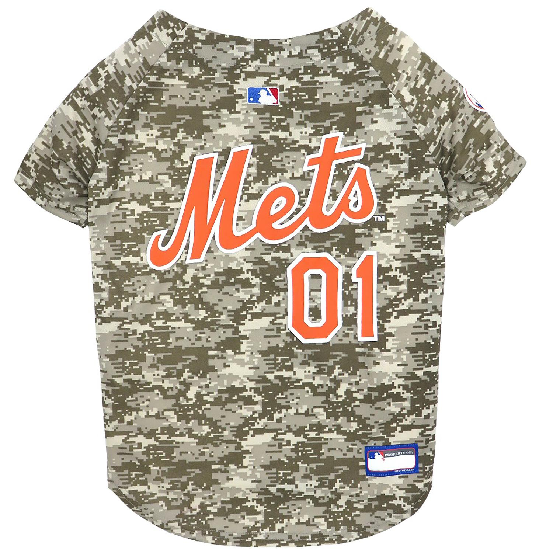 reputable site 8101b f58b9 New York Mets Dog Jersey - Camo
