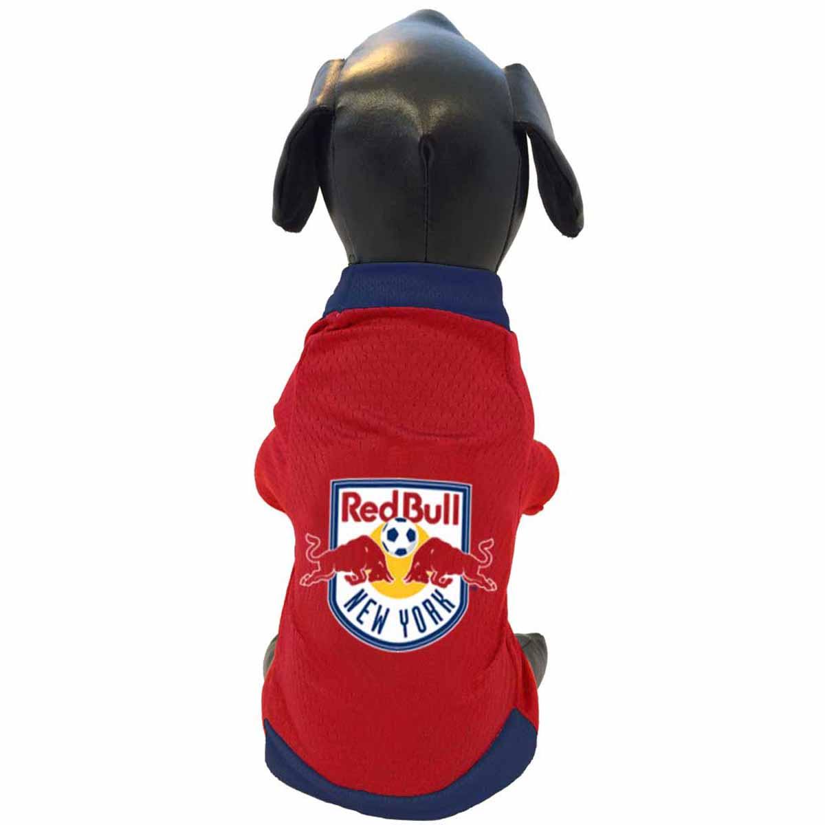 New York Red Bulls Athletic Mesh Dog Jersey