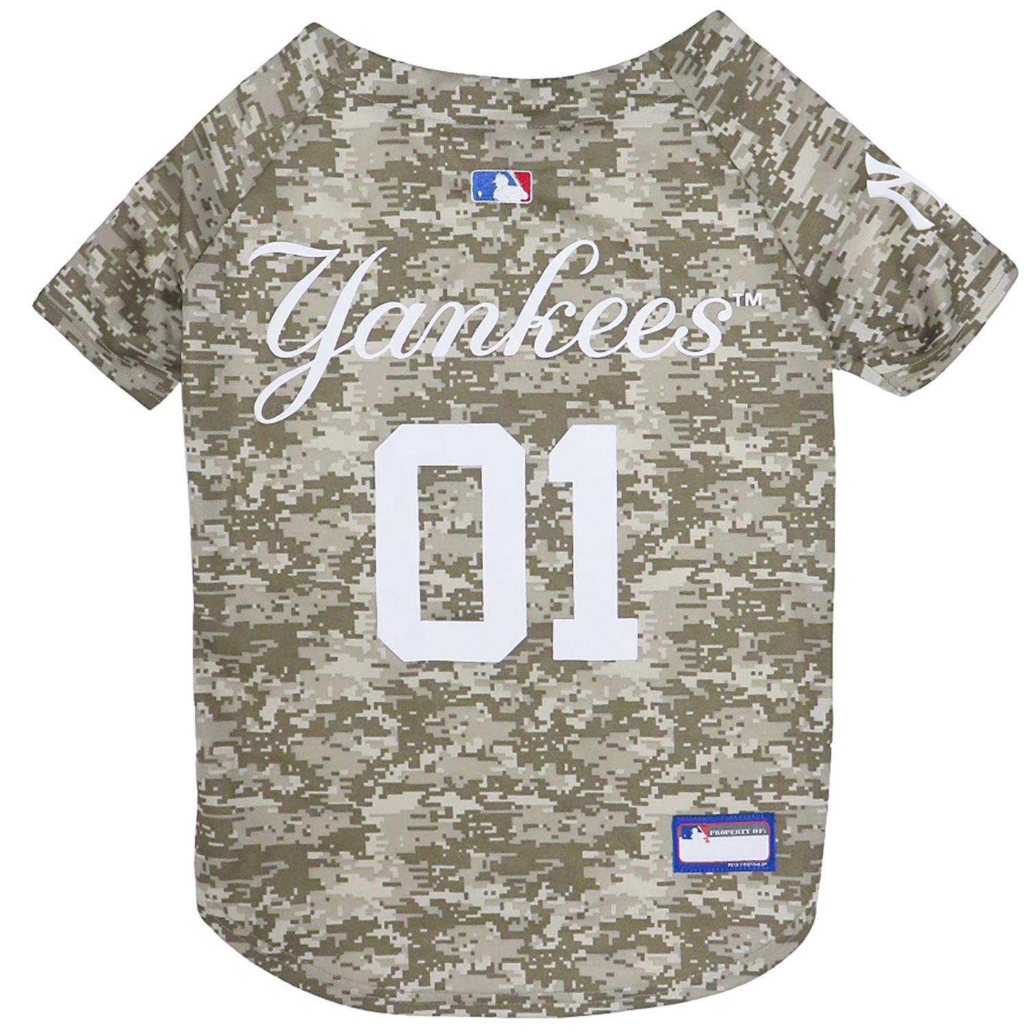 New York Yankees Dog Jersey - Camo