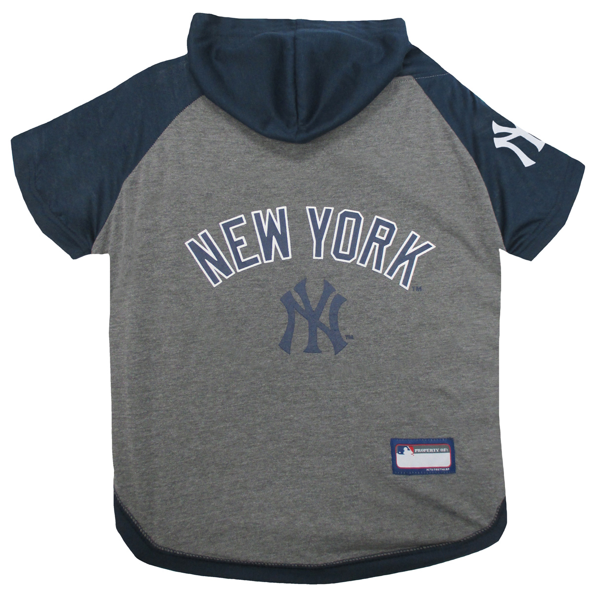 pretty nice 3e5f8 c8540 New York Yankees Hooded Dog T-Shirt