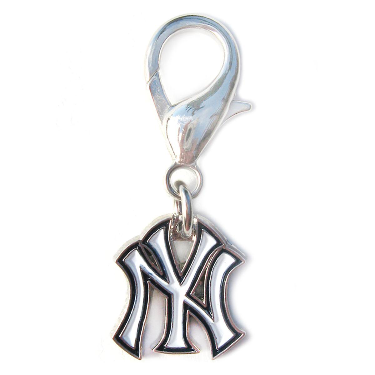 New York Yankees Logo Dog Collar Charm