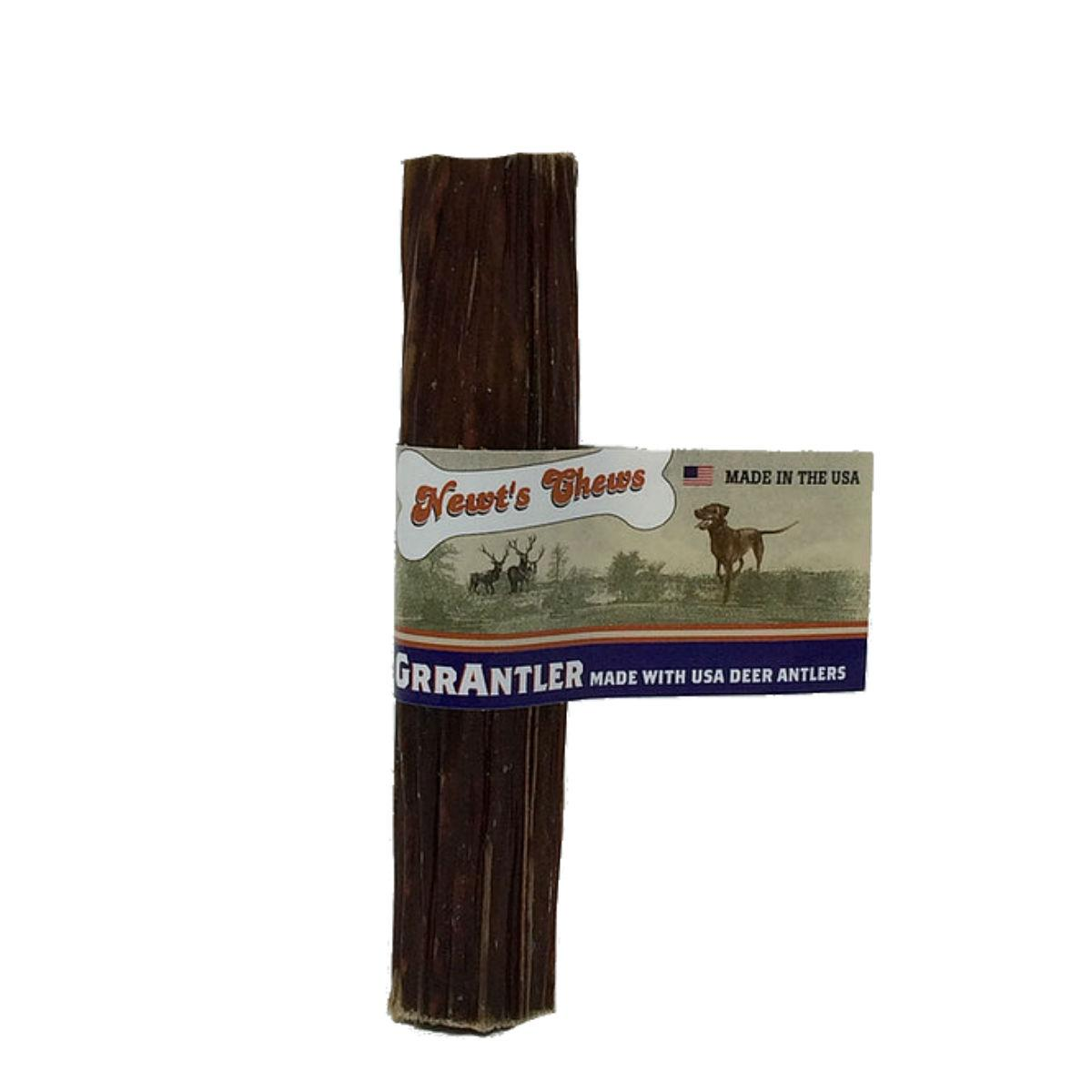 Newt's Chews GrrAntler Dog Chew - Beef Jerky and Cranberry