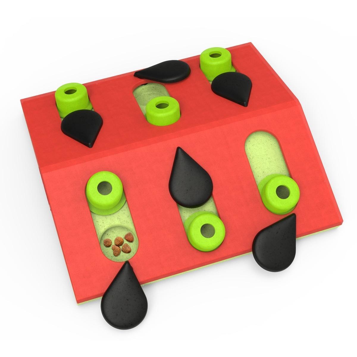 Nina Ottosson Melon Madness Puzzle & Play Cat Toy