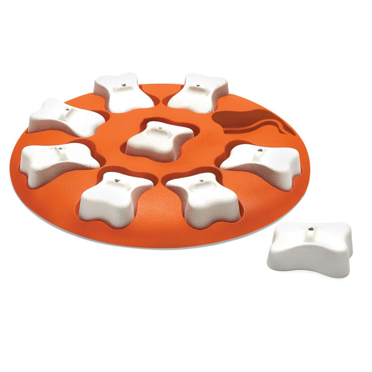 Nina Ottosson Smart Puzzle Dog Toy - Orange