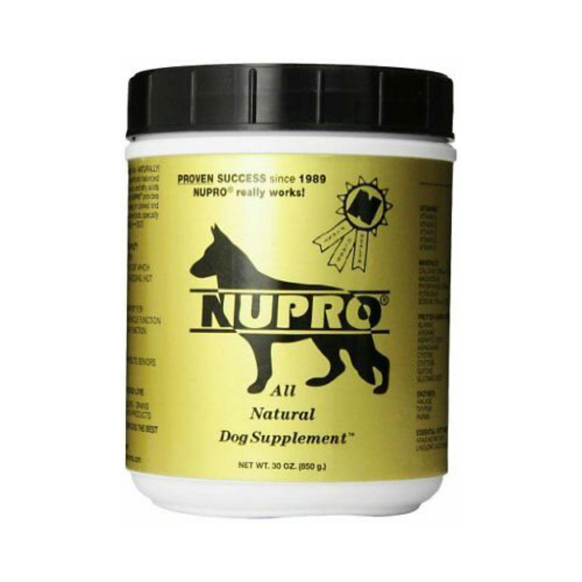 Nupro All Natural Dog Supplements