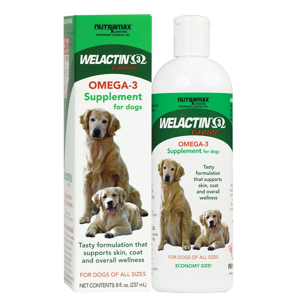 Welactin®️ Canine Omega-3 Liquid Dog Supplement by Nutramax®️