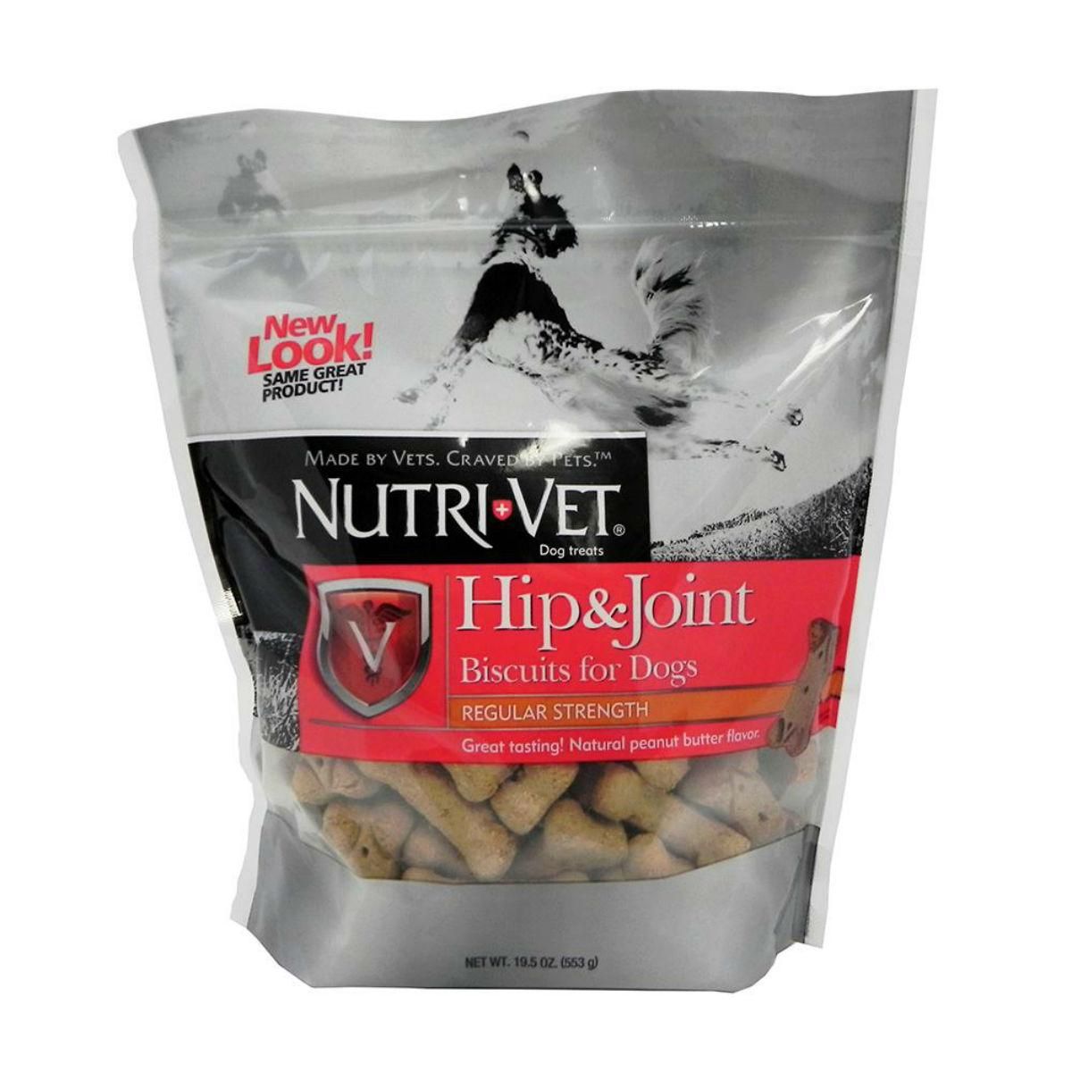 Nutri-Vet Hip & Joint Peanut Butter Wafers