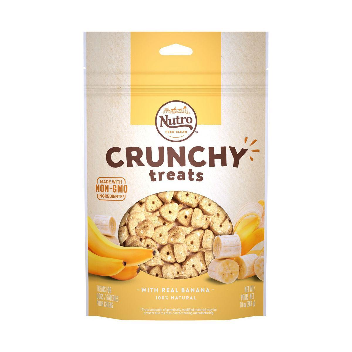 Nutro Crunchy Dog Treat - Real Banana