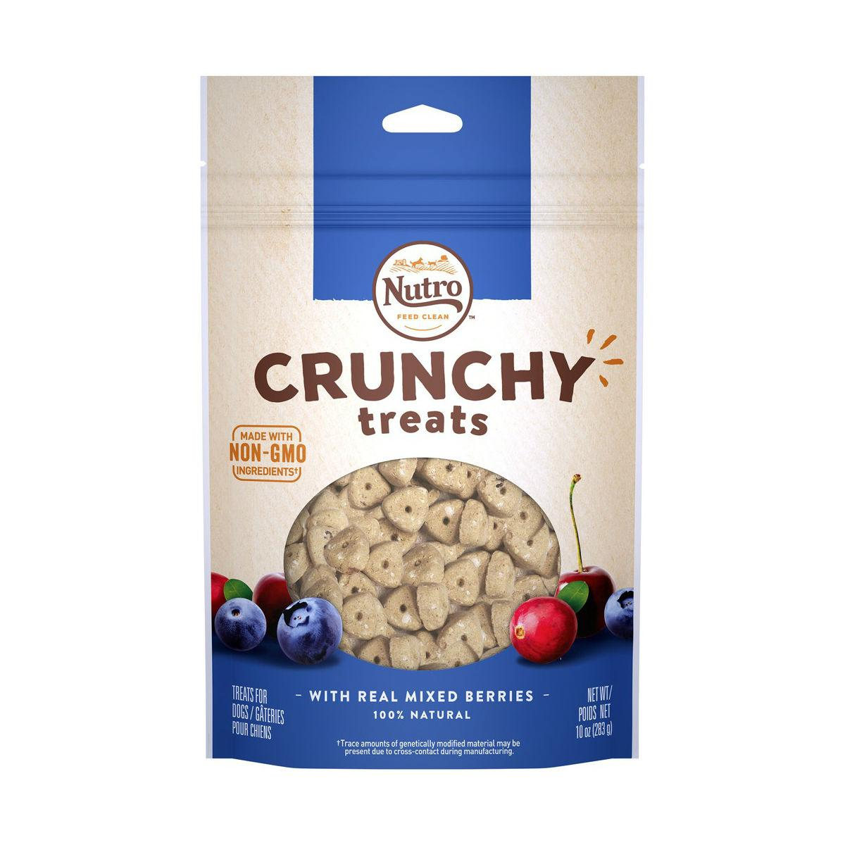 Nutro Crunchy Dog Treat - Real Mixed Berries