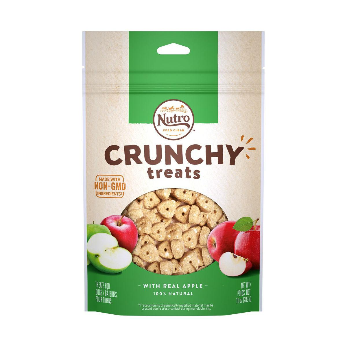 Nutro Crunchy Dog Treat - Real Apple