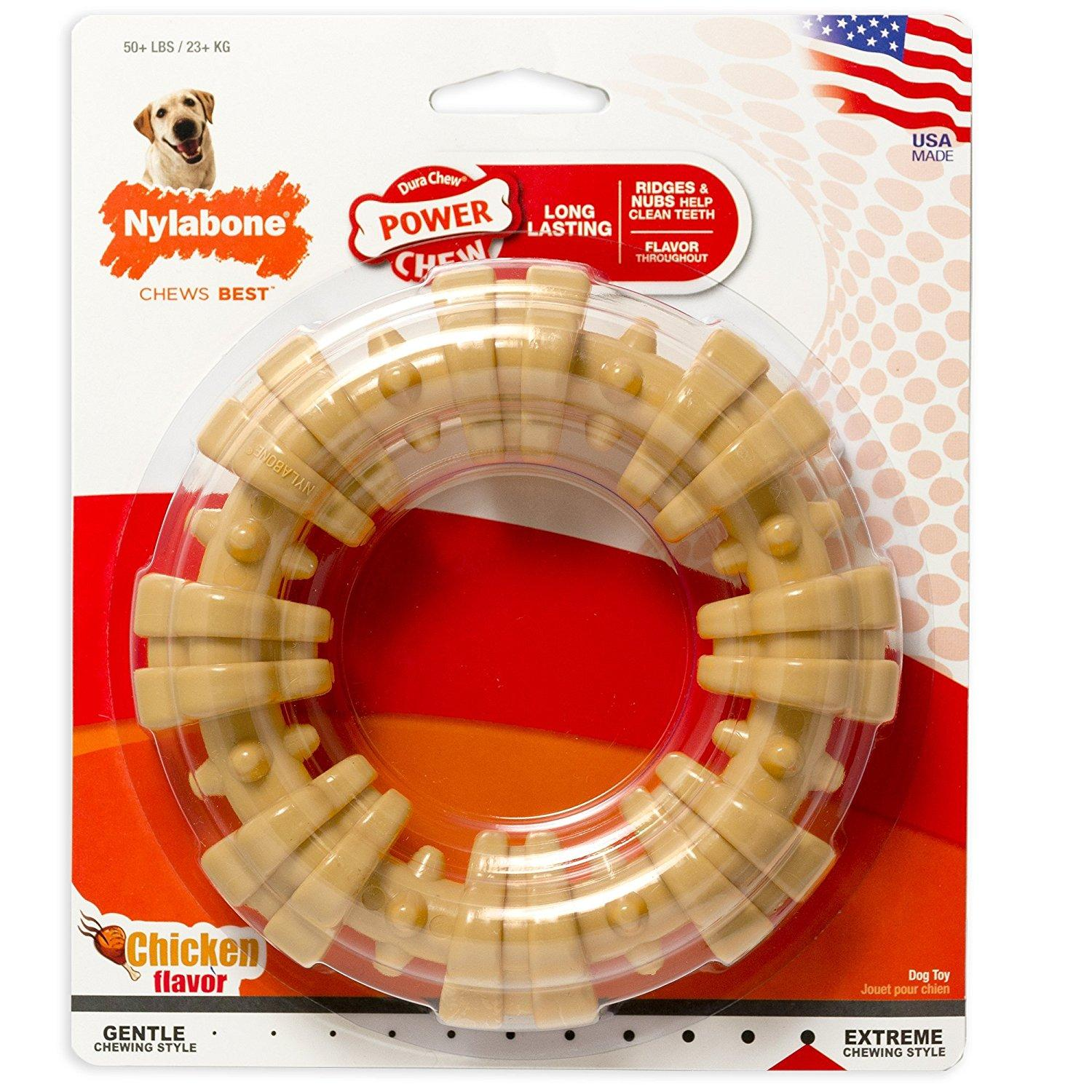 Nylabone Dura Chew Ring Dental Dog Toy