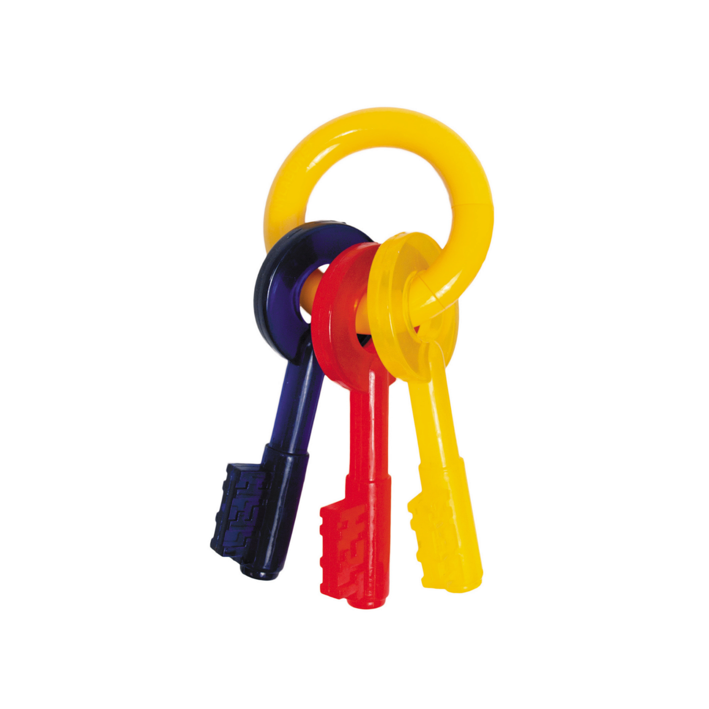 Nylabone Puppy Teething Keys Dog Toy