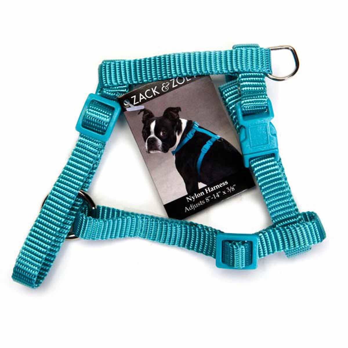 Nylon Dog Harness by Zack & Zoey - Bluebird