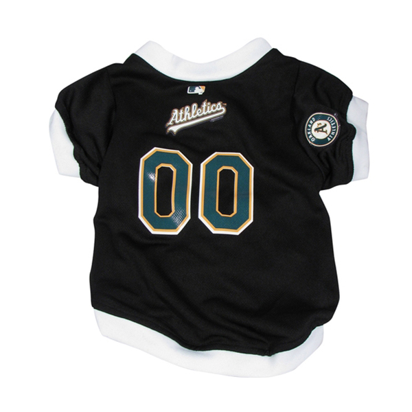 Oakland Athletics Baseball Dog Jersey