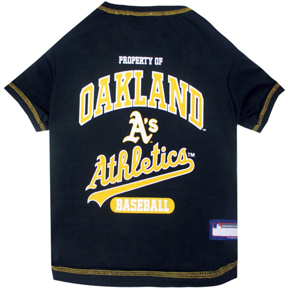 Oakland Athletics Dog T-Shirt - Green