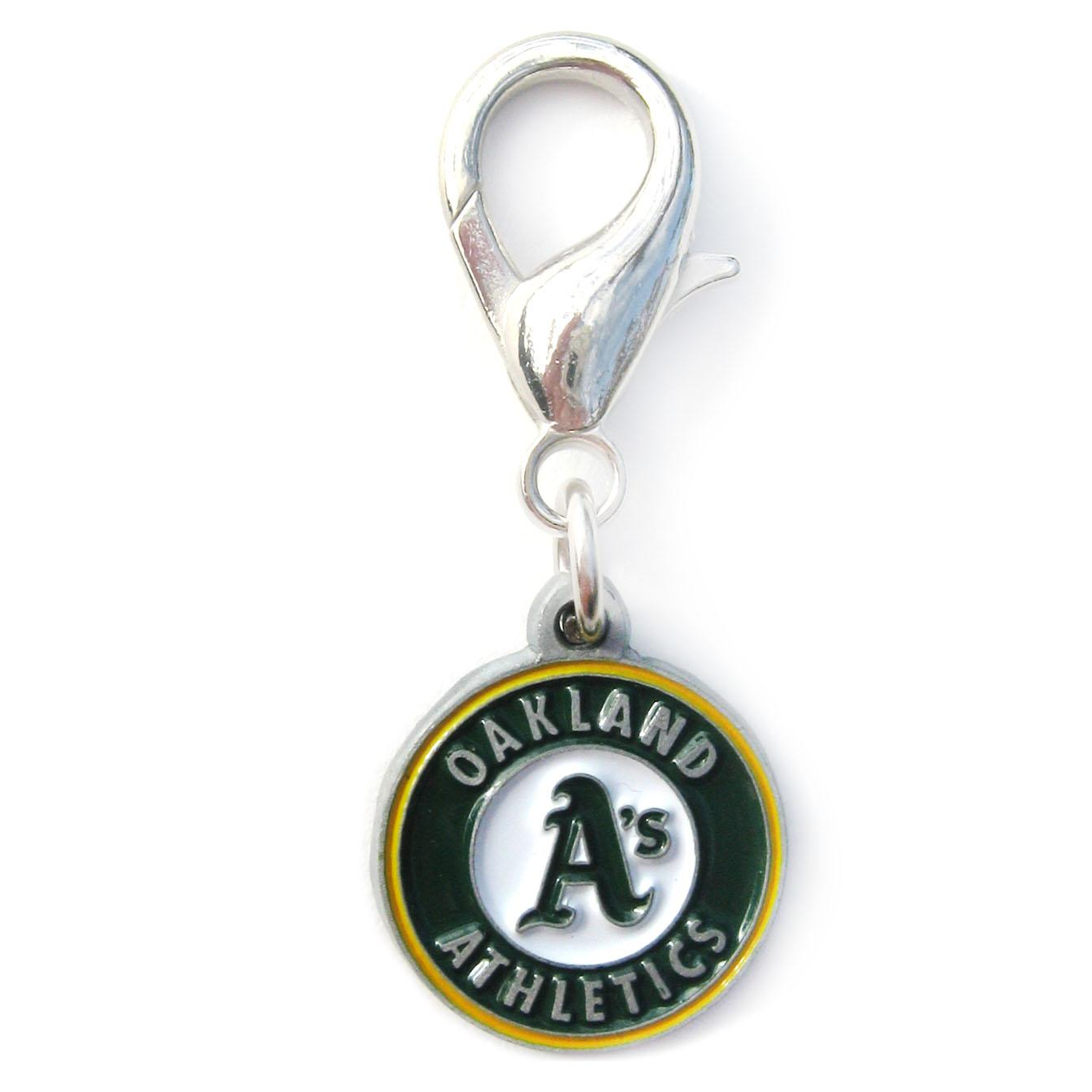 Oakland Athletics Logo Dog Collar Charm