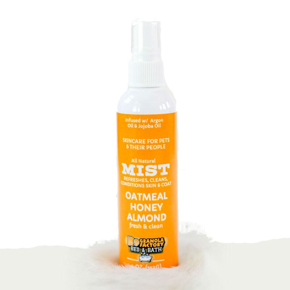 K9 Granola Factory Oatmeal Honey Almond Dog Body Mist