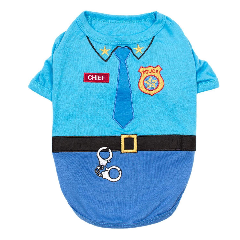 Officer Woof Police Dog Costume Shirt