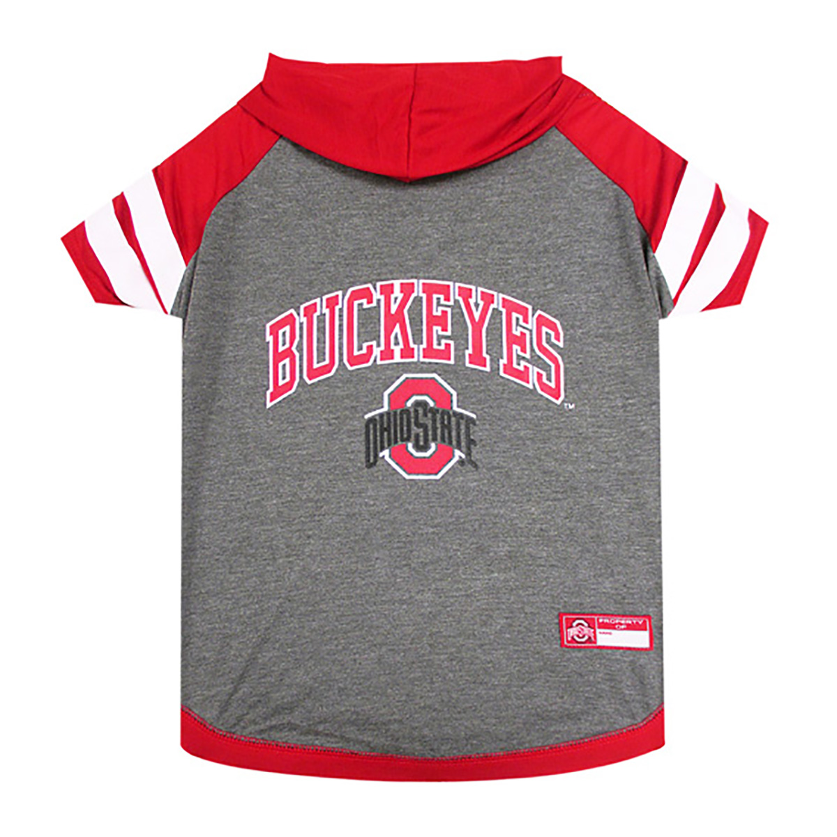 Ohio State Hooded Dog Shirt