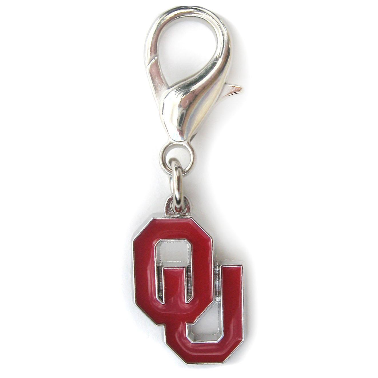 Oklahoma Sooners Dog Collar Charm
