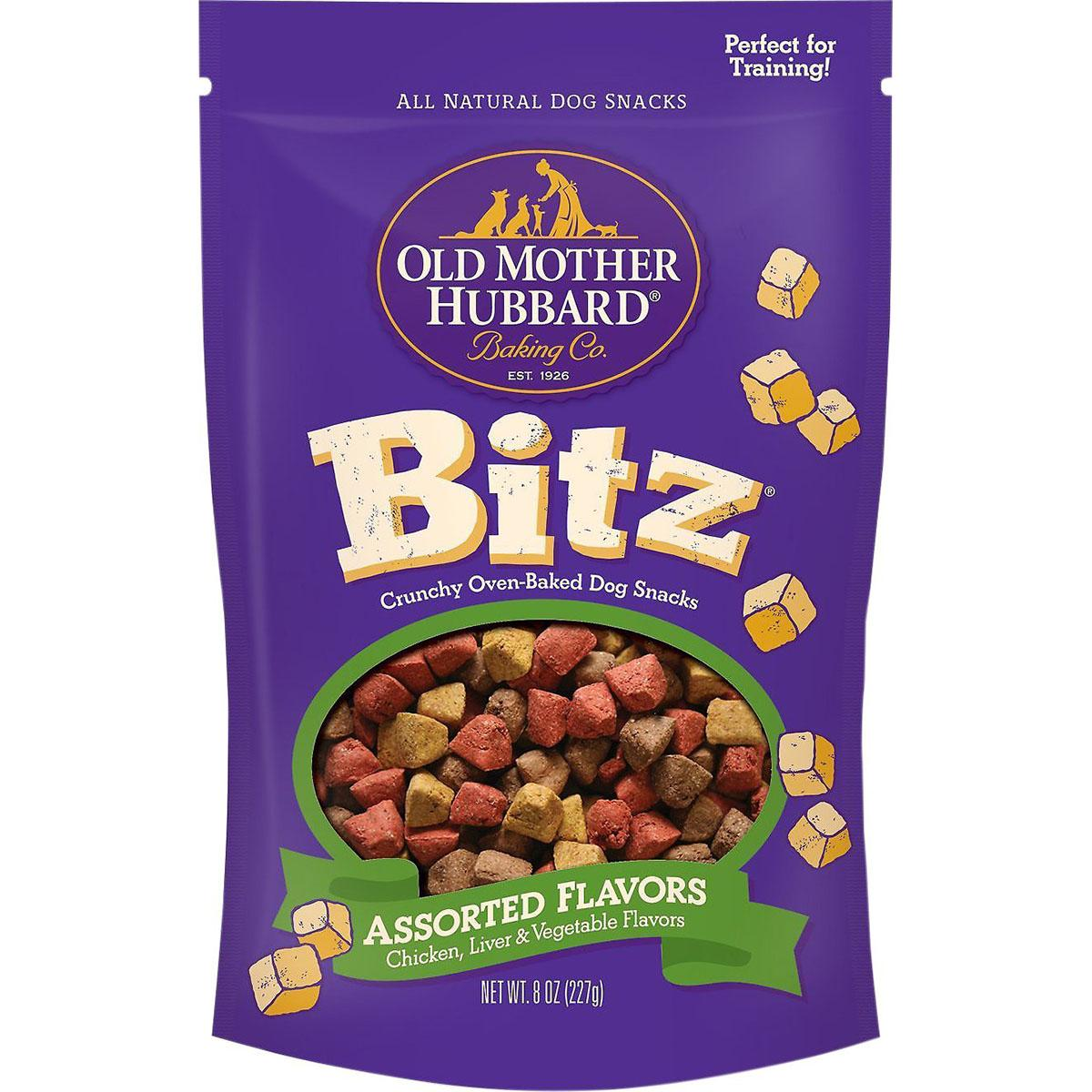 Old Mother Hubbard Bitz Assorted Flavors Crunchy Baked Dog Treats