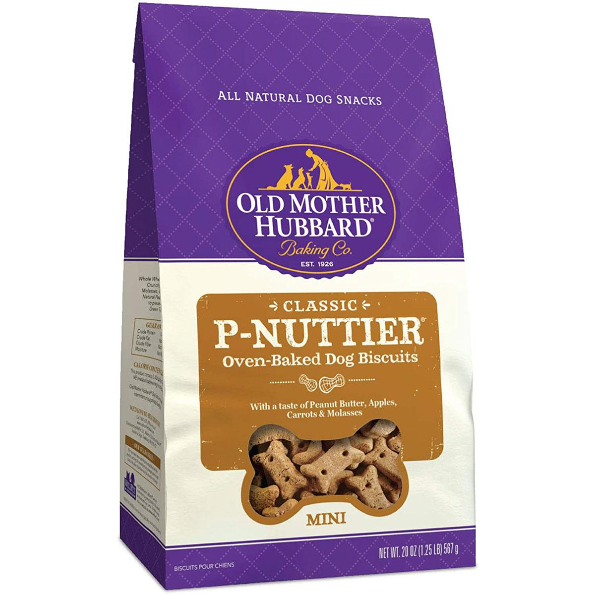 Old Mother Hubbard Classic Mini P-Nuttier Biscuits Baked Dog Treats