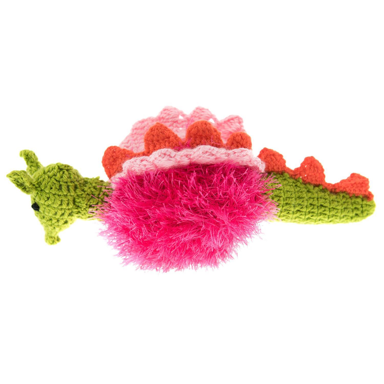 OoMaLoo Handmade Dragon Dog Toy - Pink